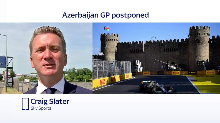 The Azerbaijan Grand Prix was the eighth race to either postpone or cancel outright this season and Sky Sports News' Craig Slater says that this is a massive headache for the F1 authorities