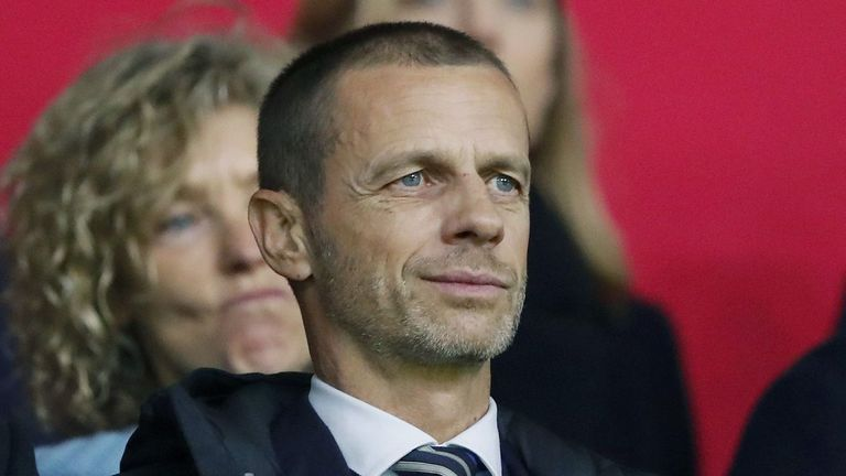 Aleksander Ceferin is optimistic football will resume