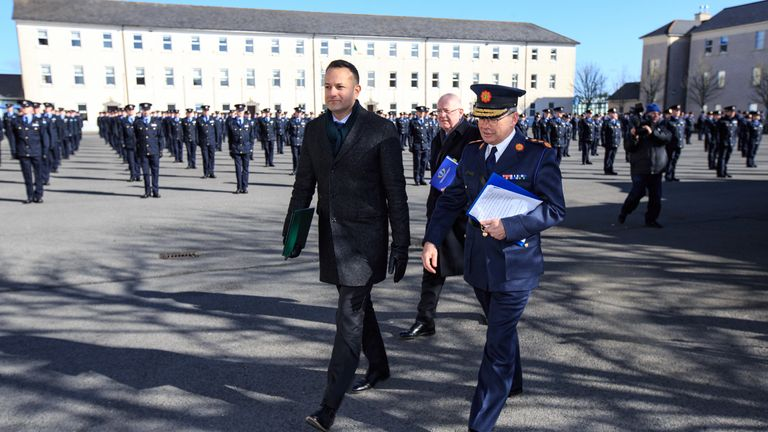 Taoiseach Leo Varadkar has told people to stay at home until at least April 12