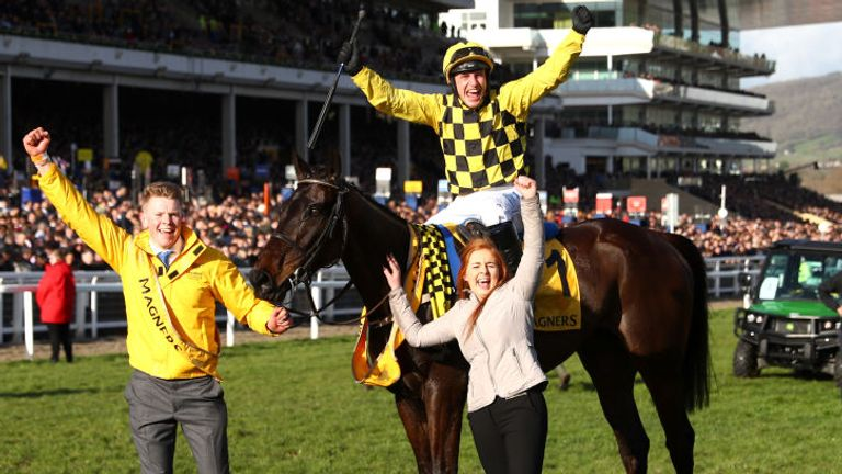 Al Boum Photo made history by winning the Cheltenham Gold Cup for the second year in a row