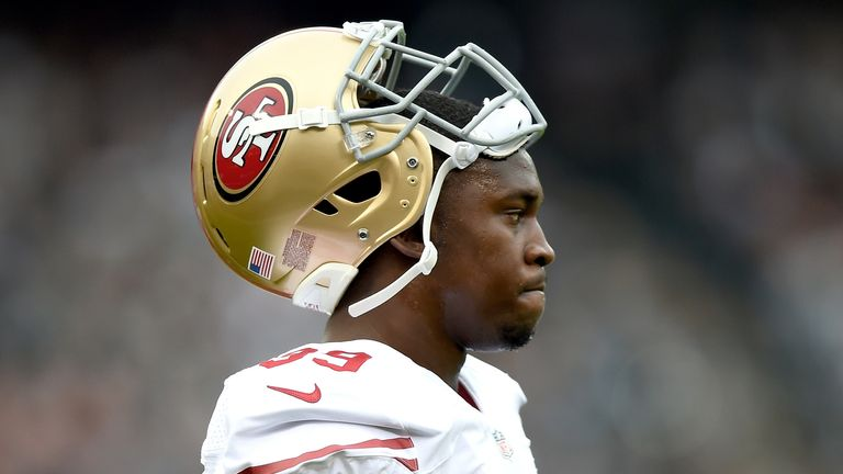 Aldon Smith excelled with the 49ers before his career was derailed