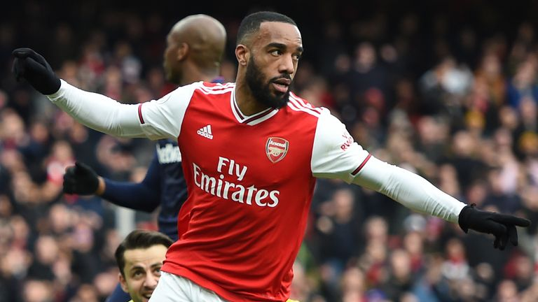 Alexandre Lacazette has been mentioned as part of a possible swap deal