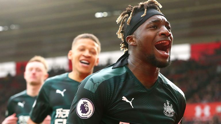 Saint-Maximin will be looking for more goals like the one at Southampton