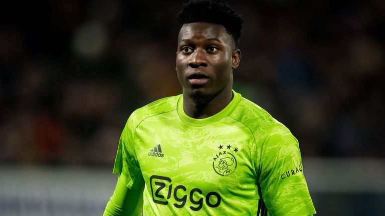 Chelsea are reportedly lining up a move for Ajax goalkeeper Andre Onana