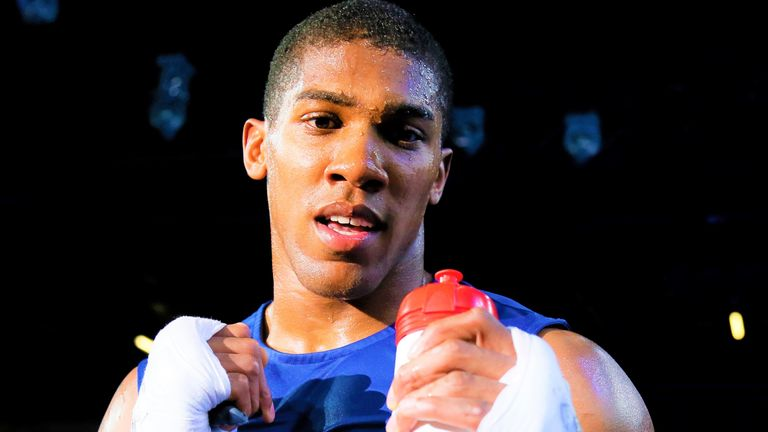 Anthony Joshua had been set to face amateur rival Simon Haddon
