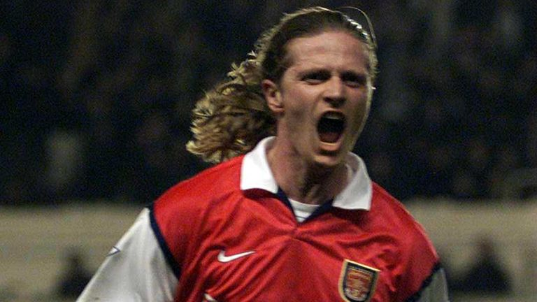 Emmanuel Petit played for Arsenal from 1997-2000