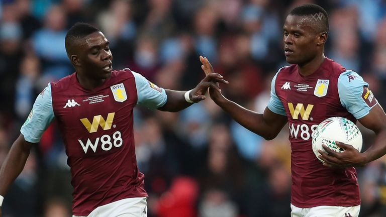 Aston Villa are two points adrift of safety with a game in hand