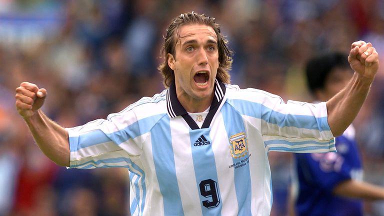 Legendary Argentina striker Gabriel Batistuta never achieved the ultimate success in European club football