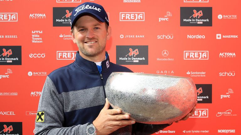 The Made in Denmark was the first of three wins for Bernd Wiesberger last year