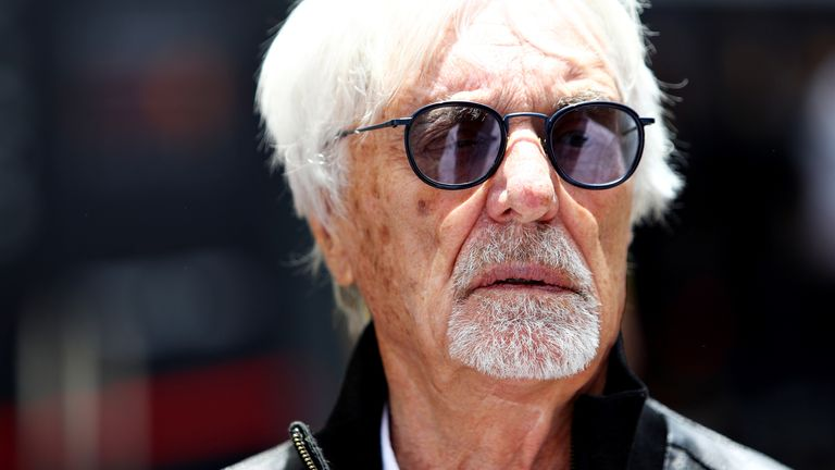 Lewis Hamilton: 'Sad and disappointing' to browse Ecclestone remarks