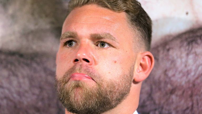 Billy Joe Saunders has apologised for the video