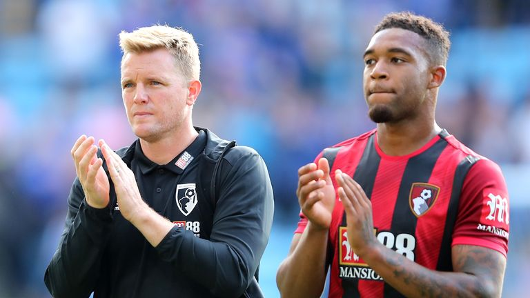 Jordon Ibe is not part of Eddie Howe's plans at Bournemouth