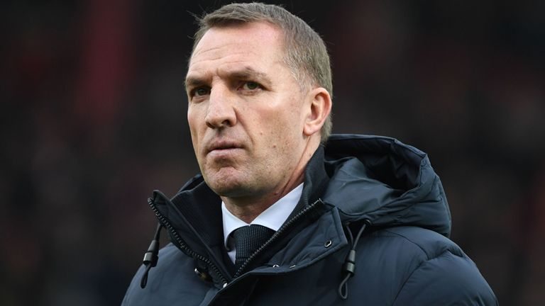 Brendan Rodgers was tested for coronavirus after displaying symptoms