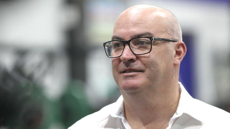New Zealand Warriors CEO Cameron George