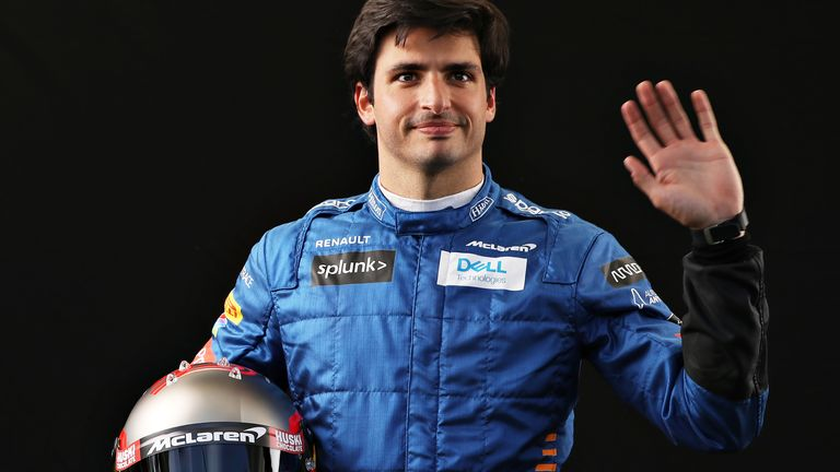 In an Instagram live with Sky F1's Rachel Brookes, Williams driver George Russell says Ferrari signing Carlos Sainz is great for Formula 1