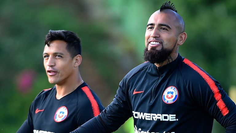Both Arturo Vidal and Alexis Sanchez play their domestic football in areas affected by coronavirus