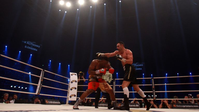 Chisora emerged with credit by going 12 rounds