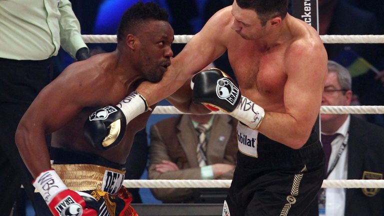 Vitali controlled the fight but couldn't halt Chisora