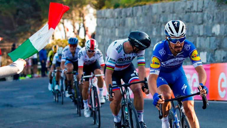 Frenchman Julian Alaphilippe won the 2019 edition of Milan-San Remo