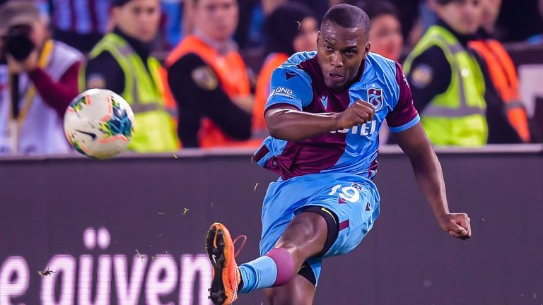 Sturridge scored seven goals in 16 appearances for Trabzonspor in Turkey this season