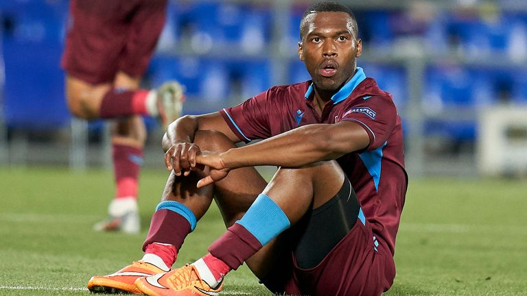 Daniel Sturridge's contract with Trabzonspor was terminated by mutual consent after he received a four-month ban