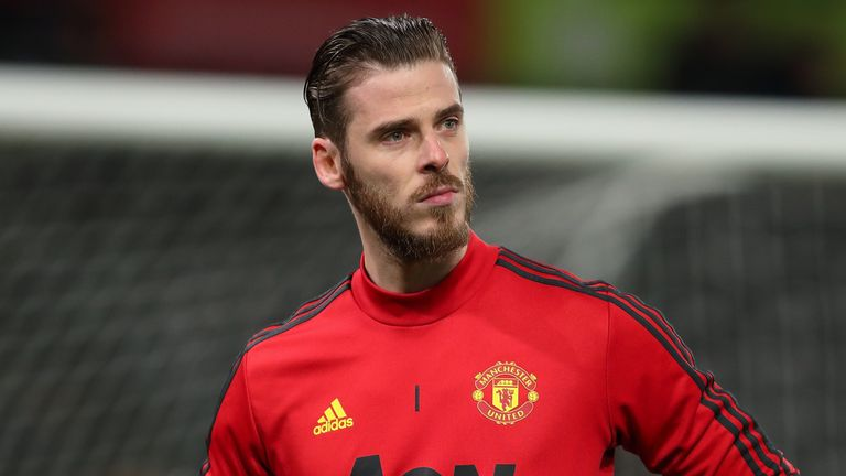 David de Gea was among those who congratulated the young goalkeeper on his efforts in isolation
