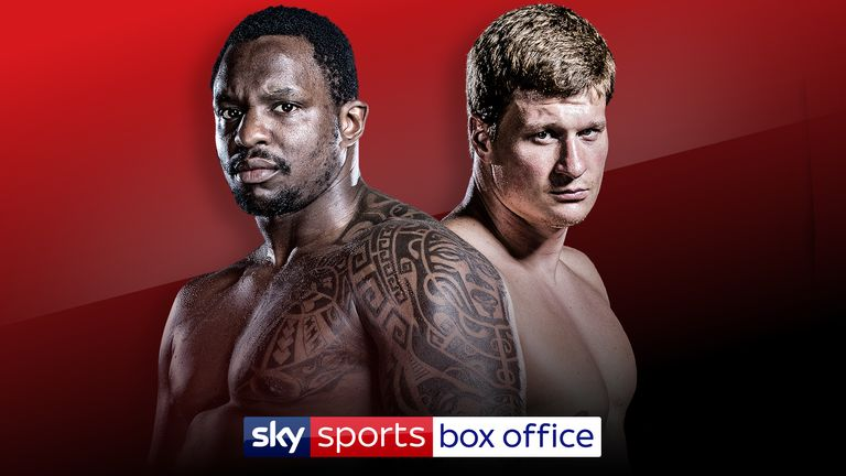 Whyte vs Povetkin, May 2 in Manchester, live on Sky Sports Box Office