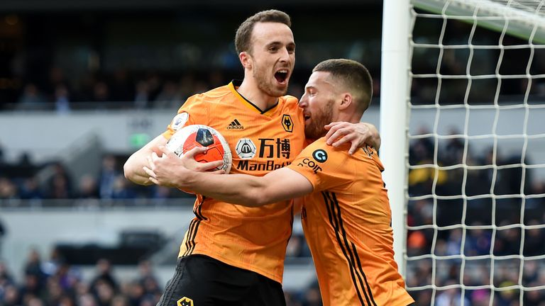 Jota has helped Wolves go on a six-game unbeaten run in all competitions