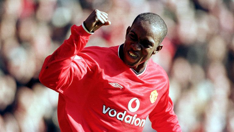 Yorke's first-half hat-trick laid the foundations for United's 6-1 thrashing of Arsenal in 2001
