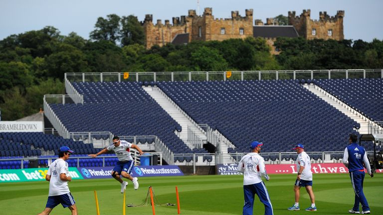 Durham's have offered the use of their Emirates Riverside stadium to the NHS and local council