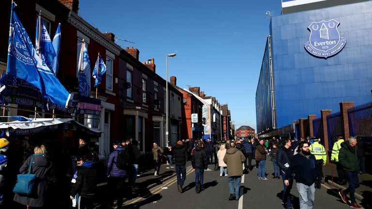 "Everton have made a donation and launched the""Blue Family"" campaign"