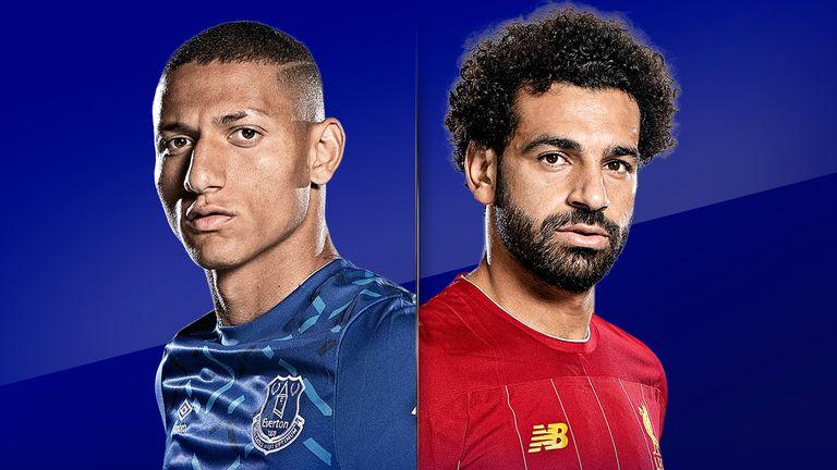 Watch Everton vs Liverpool live on Sky Sports