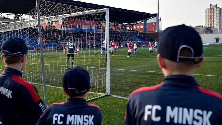 Belarus was the only country in Europe playing football amid the pandemic