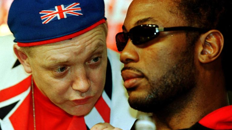 Maloney and Lennox Lewis enjoyed enormous success together, capped by a famous night in Las Vegas in November 1999
