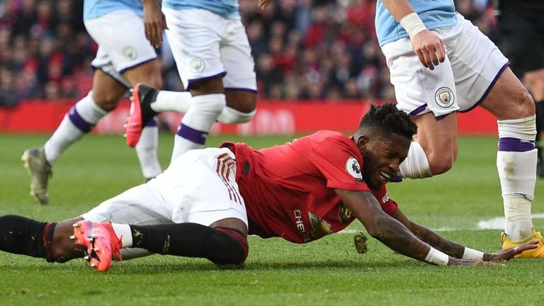 Should Fred have been given a penalty after being tripped by Nicolas Otamendi?
