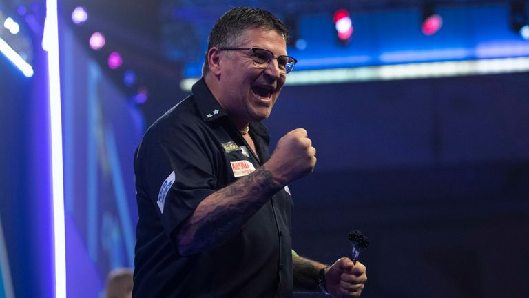 Gary Anderson will open night 30 against Dirk van Duijvenbode