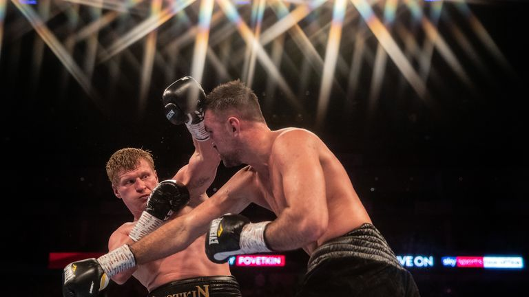 Goes Away With Fury Povetkin