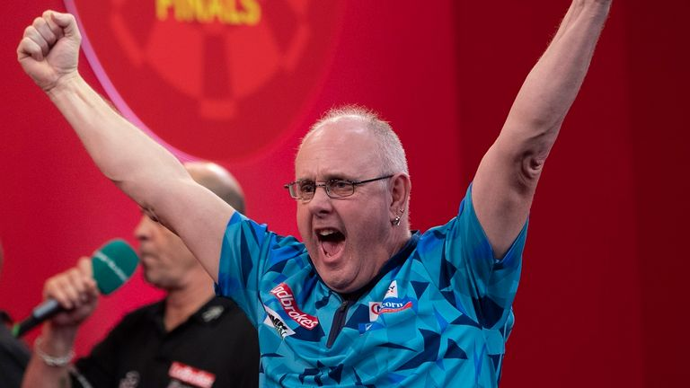 Ian White overcame James Wade in the decider
