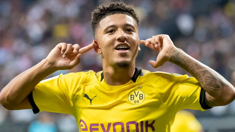 Jadon Sancho has attracted an army of suitors with his form this season