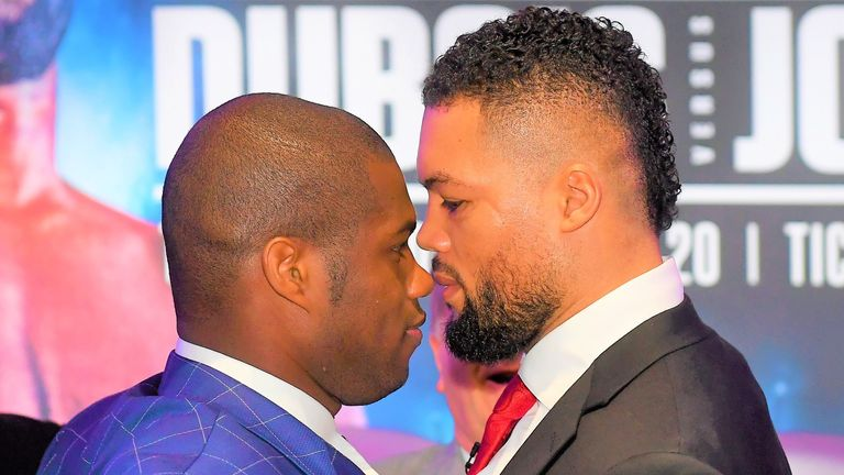 Daniel Dubois and Joe Joyce are set to settle their domestic rivalry