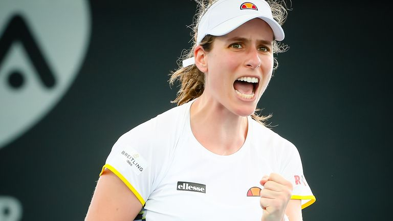 Johanna Konta reached the semi-finals at Wimbledon in 2017