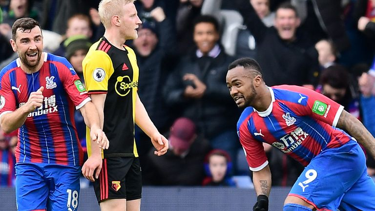 Crystal Palace's 1-0 win over Watford was their third straight win by the same scoreline
