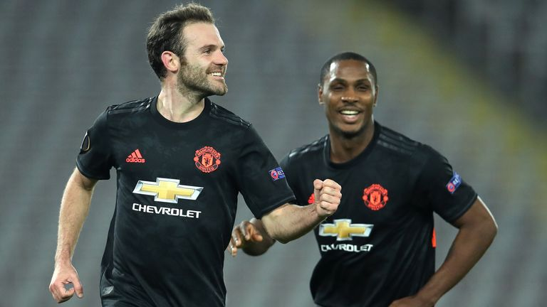 Manchester United beat LASK 5-0 in their first leg in Austria