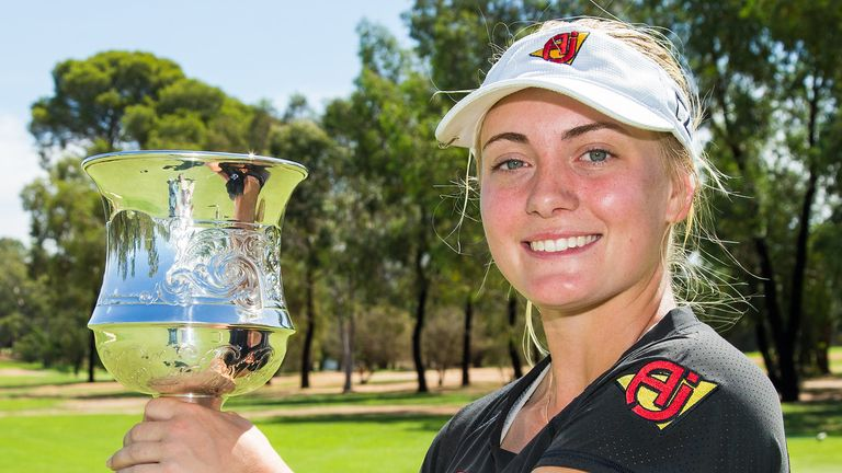 Engstrom claimed a two-shot win at the Women's NSW Open