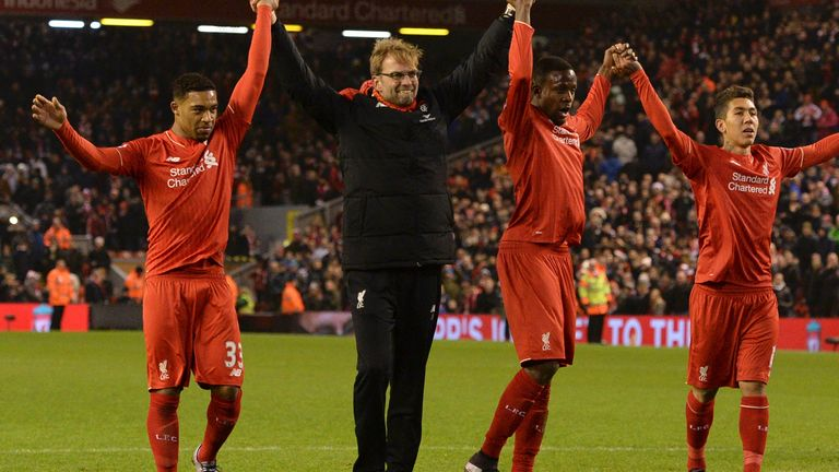 Jurgen Klopp's Liverpool are runaway Premier League leaders