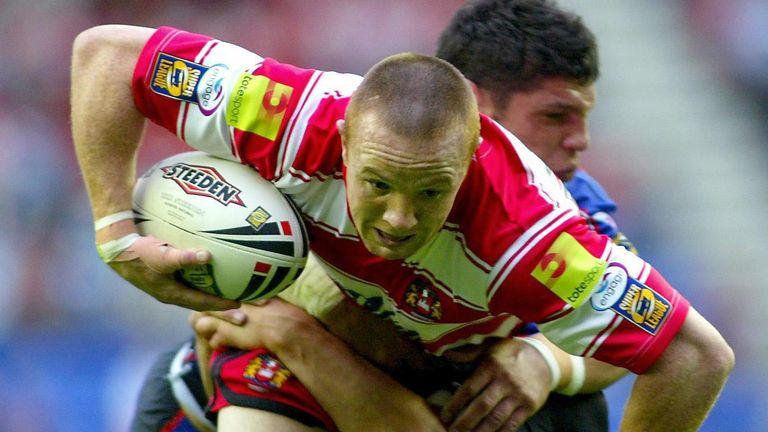 Wigan's Kris Radlinski is among the five full-back nominees