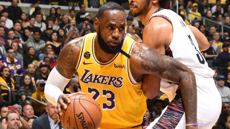 LeBron James and the rest of the NBA have been out of action since March 12