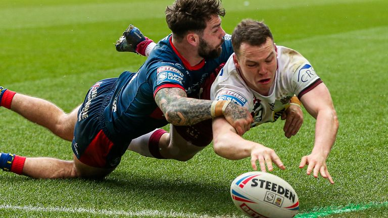 Super League has been suspended since March