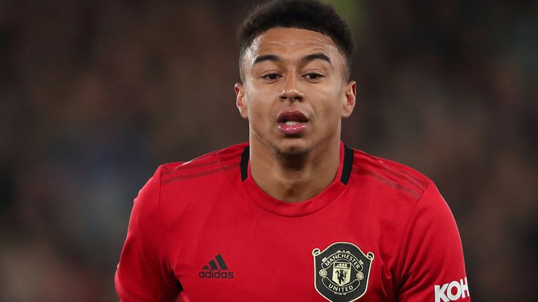 Manchester United's Jesse Lingard was targeted after his side's FA Cup win over Derby
