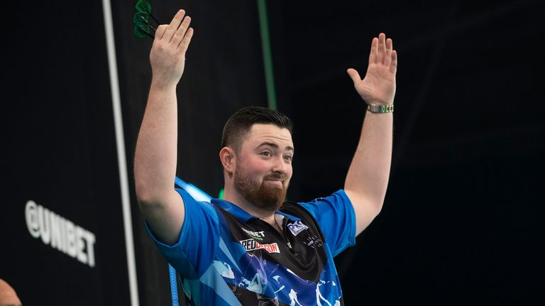 Luke Humphries shocked Gary Anderson to make Premier League history in March